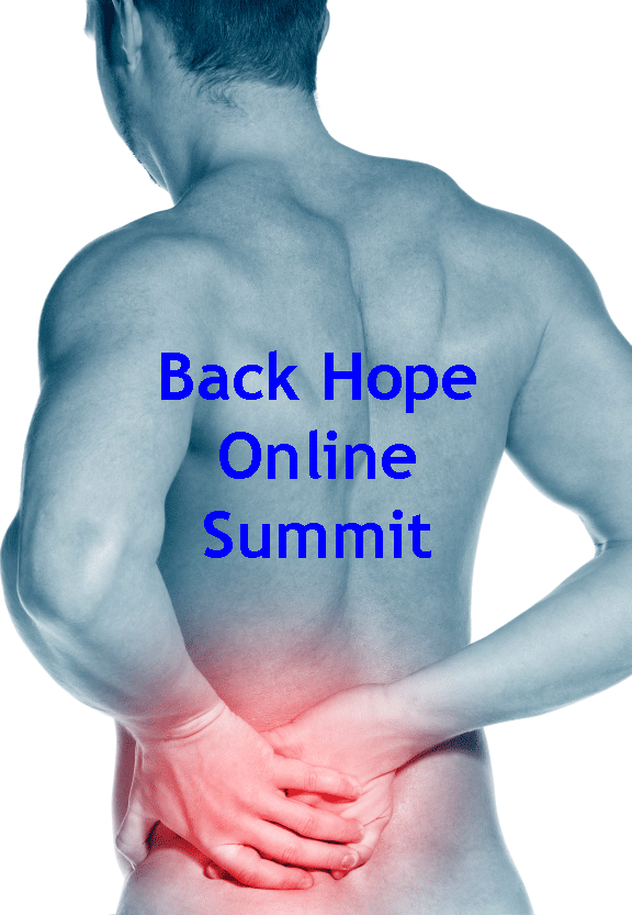 Struggling with back pain? Join me and 20 plus specialists in this unique summit..