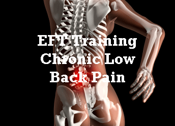 Chronic Low Back Pain and EFT