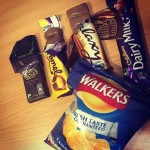 Chocolates and crisps that no one wants after the EFThellip